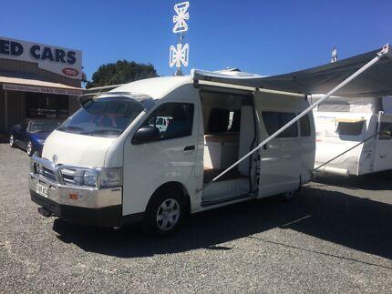 2009 Toyota hiace campervan Woodside Adelaide Hills Preview