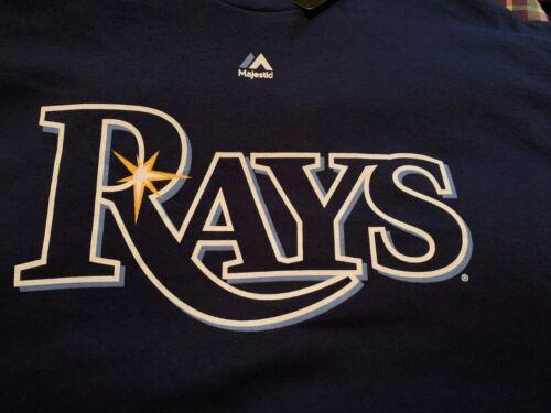 Majestic Tampa Bay Rays  ALEX COBB  53 T Shirt Size Extra La