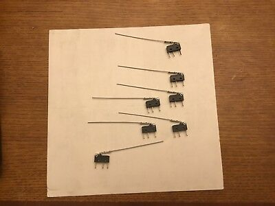 New Cherry Miniature Micro Switch With Wire Actuator 45.00each Lot Of 30 Piece