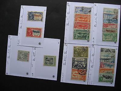 Sales cards full of BARBADOS stamps (unverified), check them out!