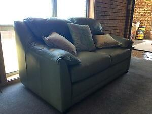 Leather Couches SOLD PENDING PICK UP Hillwood George Town Area Preview