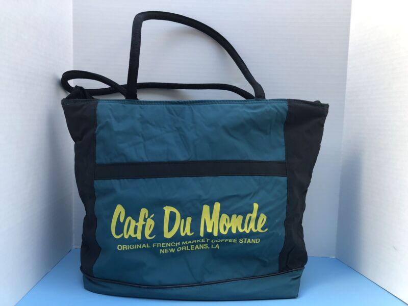 The Original Koozie Cooler Tote Bag CAFE DU MONDE - New Orleans French Market