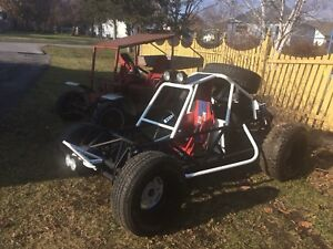 2 Vw powered dune buggy's