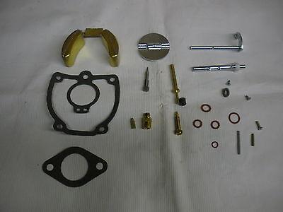 Ihc Farmall M Carburetor 47387db Major Repair Kit W Float Throttle Bocy 6513dx
