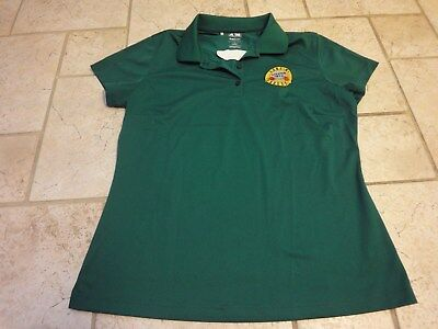 Rare 2016 Guns Roses Soldier Field SMG Crew Concert Tour Polo Shirt Womens Large