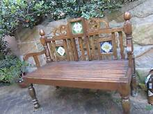 LONG TIMBER BENCH CHURCH PEW OUTDOOR BENCH MOROCCAN BENCH Naremburn Willoughby Area Preview