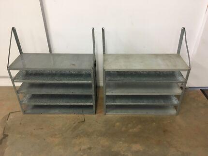 Shelves for garage or shed