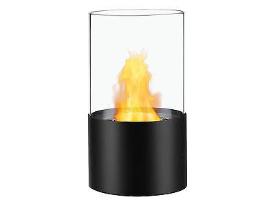 Portable Ventless Bio Ethanol Tabletop Fireplace - Circum Black | Ignis