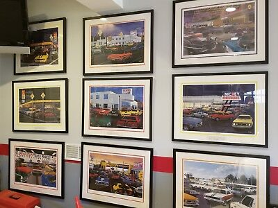 David Snyder Car Art -- Walter And Vince AP 19 Of 95 - Large Collection  - $449.00
