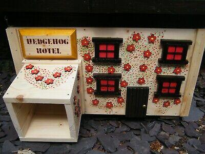 HEDGEHOG HOUSE  *NESTING & HIBERNATION* *HANDMADE* *MAKE A GREAT GIFT*