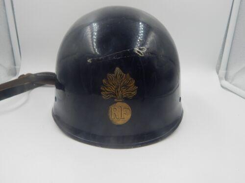 French RF Adrian Helmet Military / Police WWII