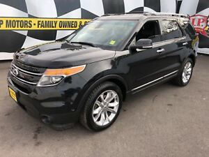 2014 Ford Explorer Limited, Navi, Leather, 3rd Row Seating, 4x4
