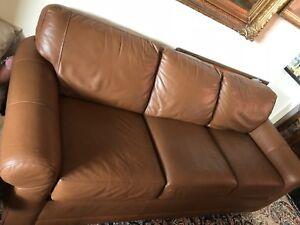 3-2-1 genuine leather sofa set