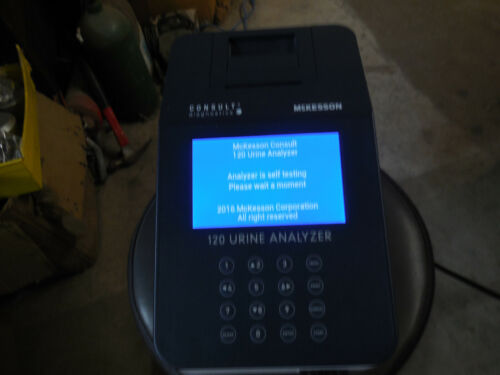McKesson 120 Urine Analyzer Model 121-120 Test Good.