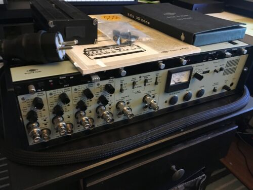 Bruel & Kjaer Type 7005 Stereo Tape Recorder Kit, Compressor, Expander, Pre-Amp