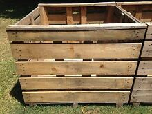 Wooden Crates / Pallets / garden beds Robina Gold Coast South Preview