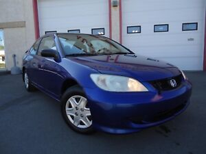 2004 Honda Civic LX, Coupe, Power Locks, A/C, Extra Clean Interi