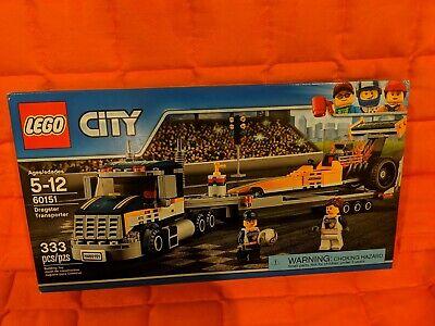 LEGO CITY 60151 Dragster Transporter NEW