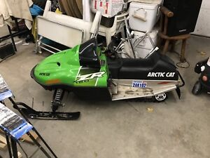 Arctic cat kids snowmobile
