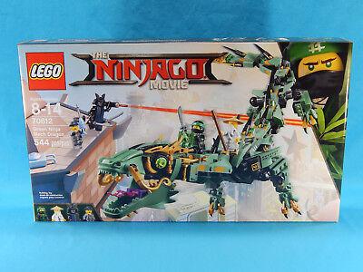 Lego Ninjago Movie 70612 Green Ninja Mech Dragon 544Pcs New Sealed 2017