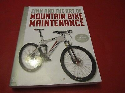 Zinn & the Art of Mountain Bike Maintenance BOOK DOWNHILL CROSS COUNTRY ENDURO for sale  Shipping to Canada