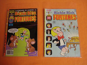 Richie Rich Fortunes Harvey Comic Book Lot of 2 -     1