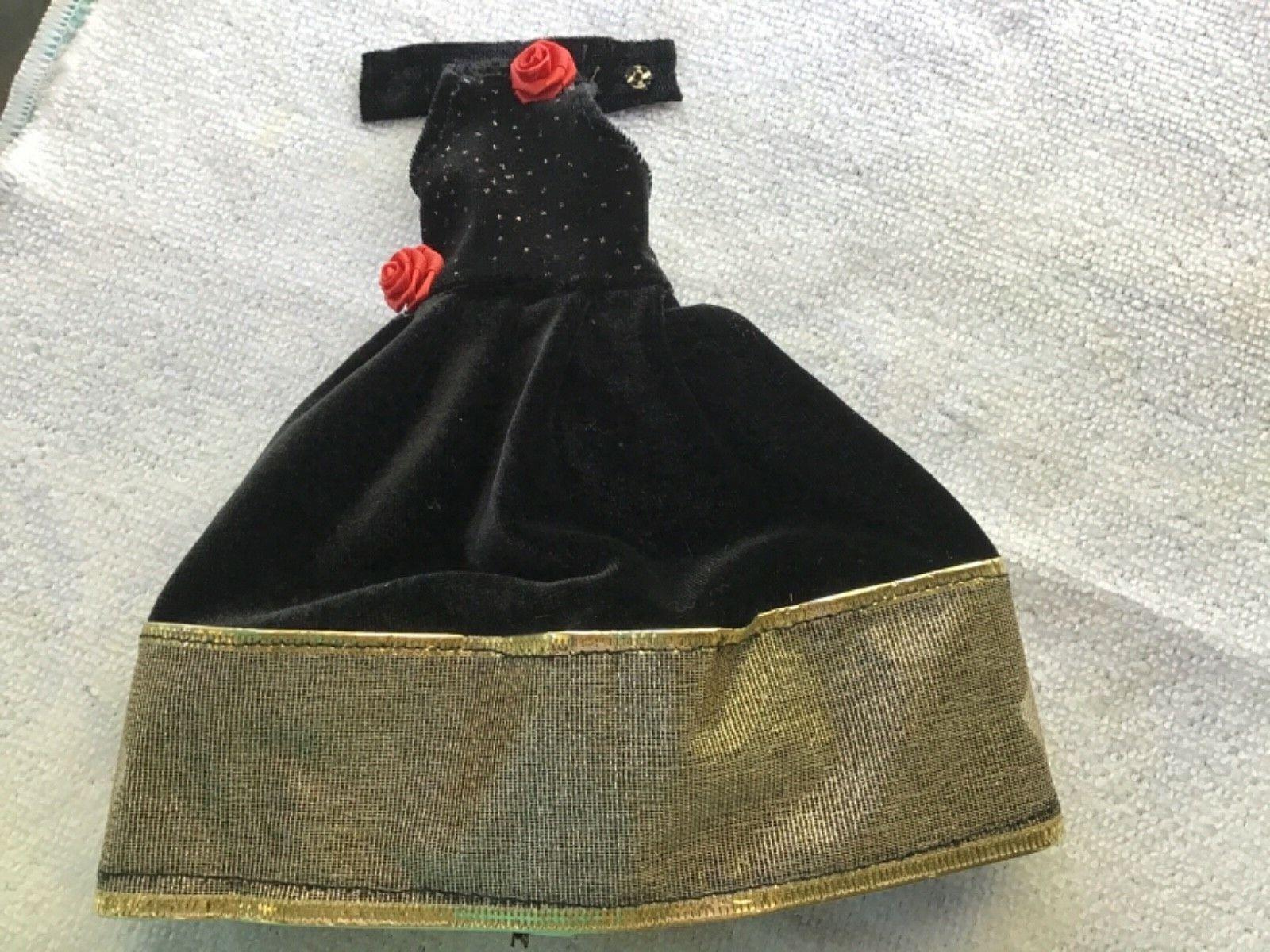 Beautifull Dress For Barbie Doll Handmade - $2.00