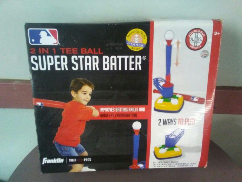 Franklin Sports MLB Super Star Batter & Fielder Multi Function 4 in 1 Pitching Machine 14071