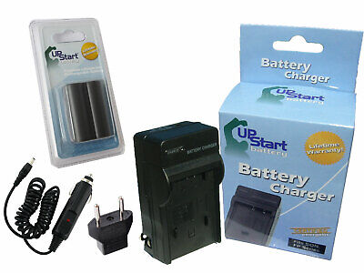 Battery +Charger +Car Plug + EU Adapter for Canon Canon EOS 40D, EOS-D60 for sale  Burnaby