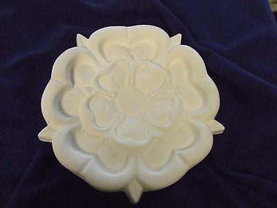 "Small Plaster Ceiling Rose 'Tudor' Design 10"" (255mm) diameter"