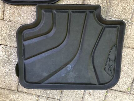 Genuine BMW X1 F48 all weather mats and boot liner