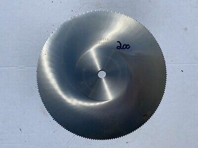 10 X 116 X 58 Semi Hss Circular Saw Blade
