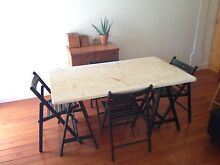 Table and chairs Mosman Mosman Area Preview