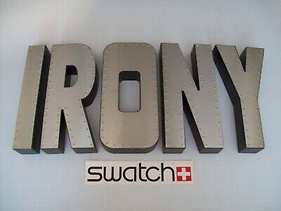"SWATCH WATCH ""Irony"" STORE DISPLAY"