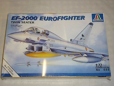 A Sealed Italeri Un Made plastic kit of a EF-2000 Euro fighter twin seater