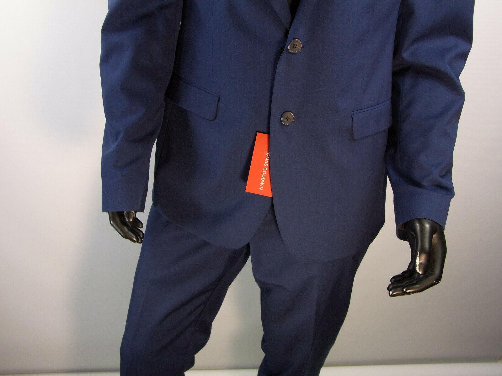 Herren Mode Anzug Thomas Goodwin Größe 114 Farbe Blau  Model 40