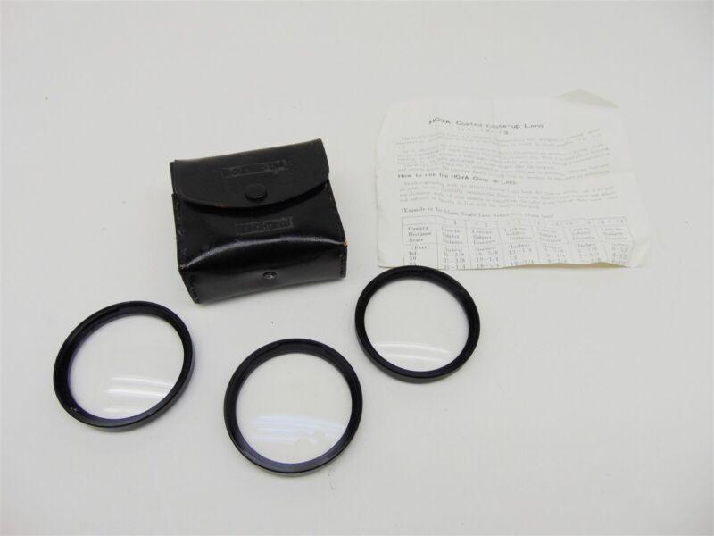 Hoya B-50 Close-Up Filter Set (+1, +2, +3)