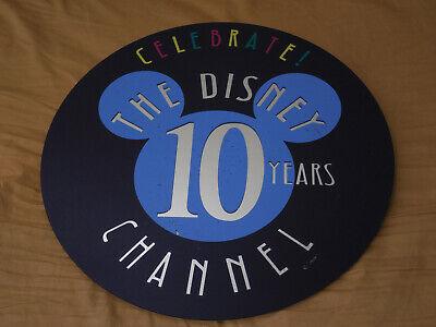 Lamp Post Prop (Rare The Disney Channel 10 Years Lamp Post Sign Display Prop Disneyland)
