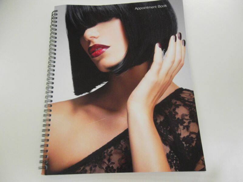 6 Column Appointment Book 100 page For Nail Shop Hair Salon Beauty Spa Office