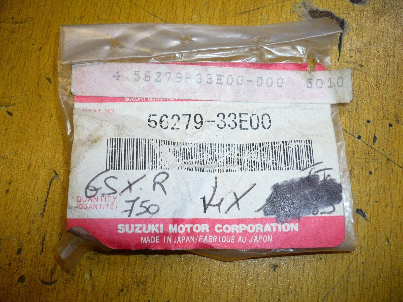 Cache embout guidon suzuki 56279-33e00 56279-33e01 gsxr 600 750 gsr gsx-s 750