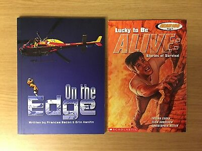2 for 1 Adventure Books for Kids - On the Edge & Lucky to Be Alive - Adventure Books For Kids