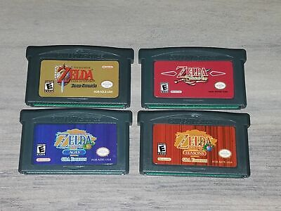 Video Game Cartridge Card The Legend of Zelda Series Gameboy Advance