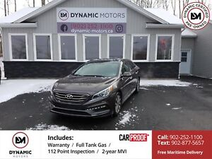 2016 Hyundai Sonata Sport Tech LEATHER! NAV! LOADED! OWN FOR...