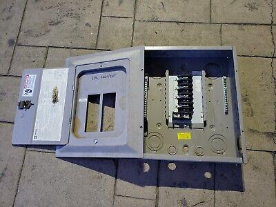 Ctc C-1495 Main Lug Breaker Panel Box Z-6365 Cutler Hammer 125amps 120240vac