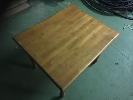 light brown coffee table