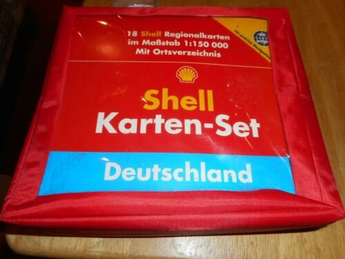 Shell Oil map set of Deutscheland  - DSCN2981