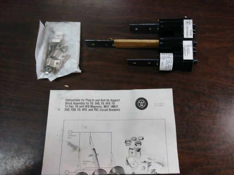 WESTINGHOUSE 507C036G03 SUPPORT BLOCK ASSEMBLY TYPE FB 3 POLE NEW IN BOX