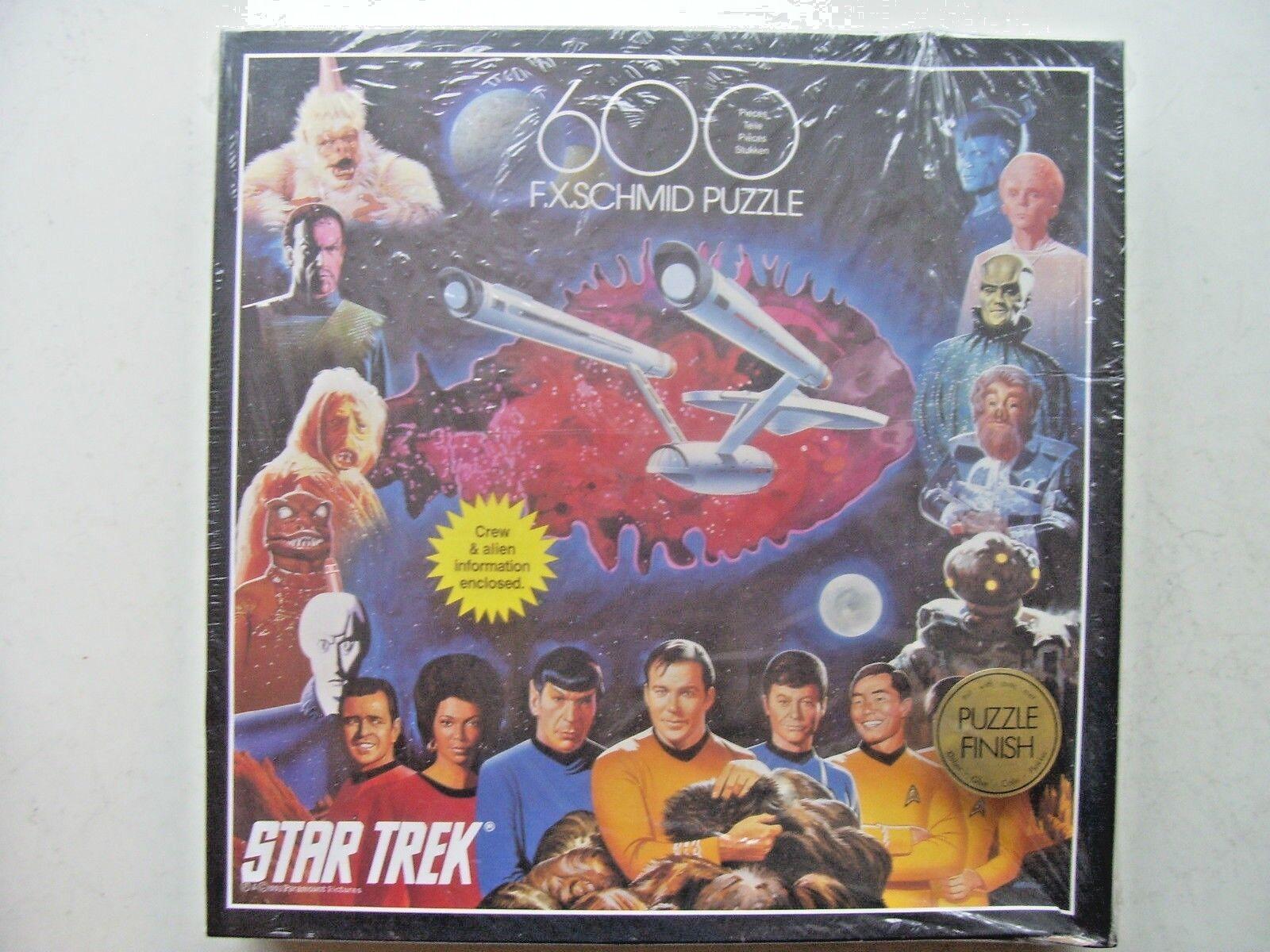 Star Trek 600 Piece Jigsaw By FX Schmid NEW & SEALED