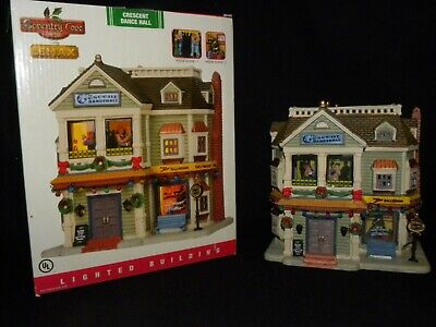 2011 Lemax Christmas Village Crescent Dance Hall Coventry Cove Collection ()