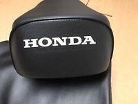 *NEW RARE OEM HONDA BLACK LEATHER SEAT COVER W// EDGING ATC70 KT 77100-957-305